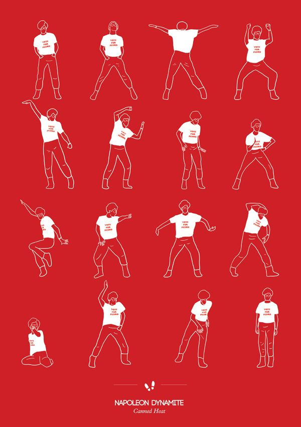 Energetic Silhouettes Celebrate Dancing in Pop Culture - My Modern Metropolis