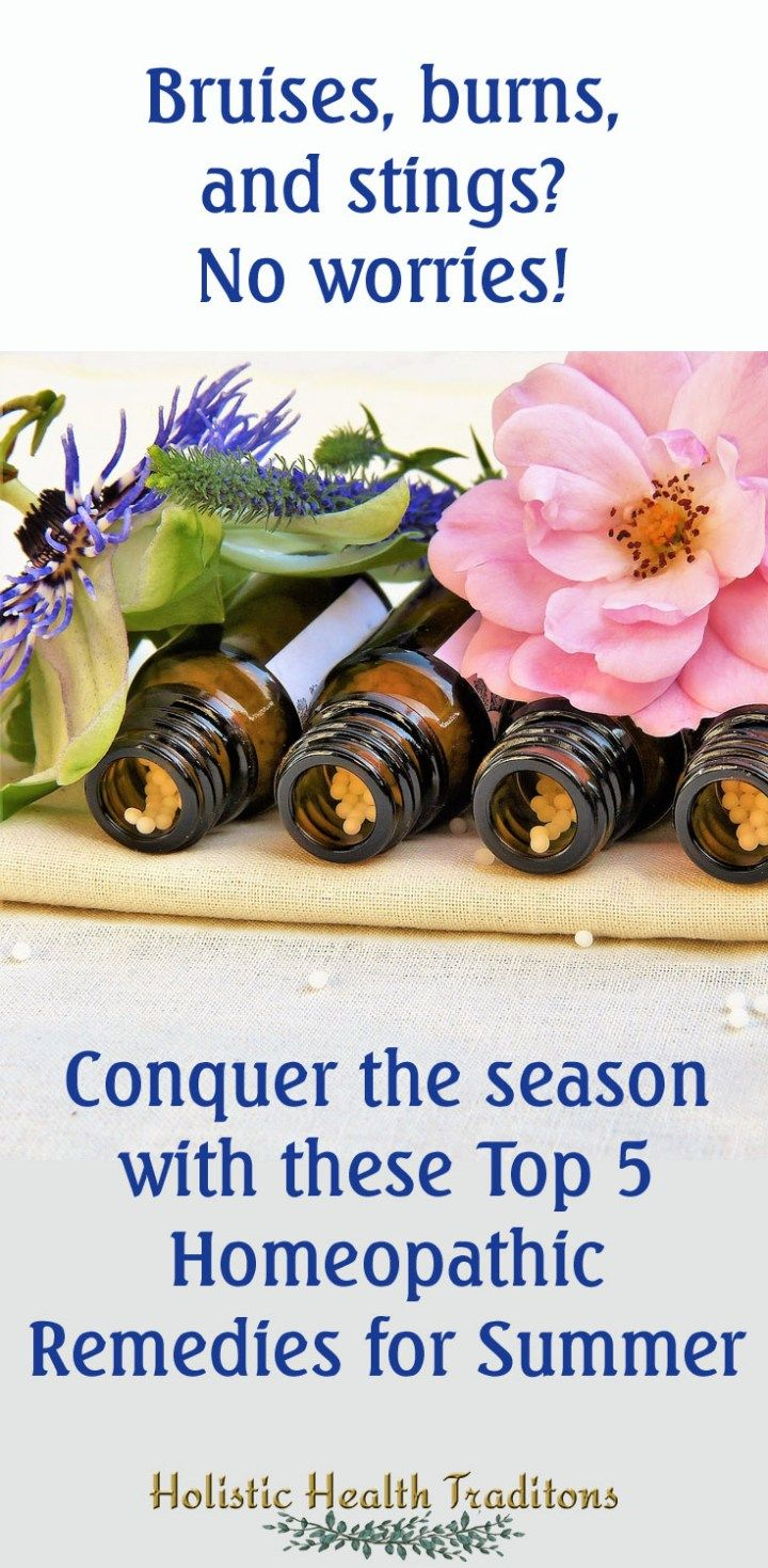 Top 5 Homeopathic Remedies for Summer