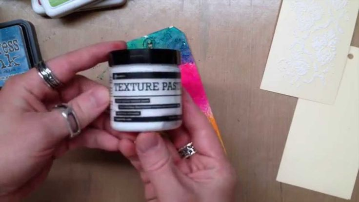 Join Creative Director Tim Holtz and learn all about Ranger's New Texture Paste...