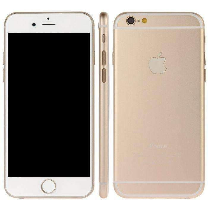 Gold High Quality Dark Screen Non Working Fake Dummy Display Model For Iphone 6