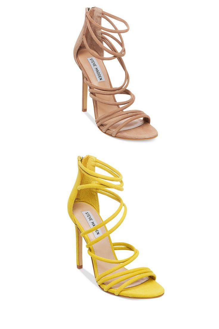 Steve Madden Women's Santi Strappy Sandals #bossbabe #shoe #fashion  #fashionista #style
