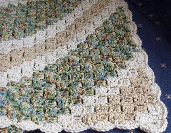 valcrafts' Crochet Corner-to-Corner Throw | crochet patterns I like
