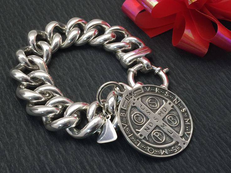 Big Mama  Sterling Silver bracelet from Vontreskow beautiful chunky stylish piece for any occasion