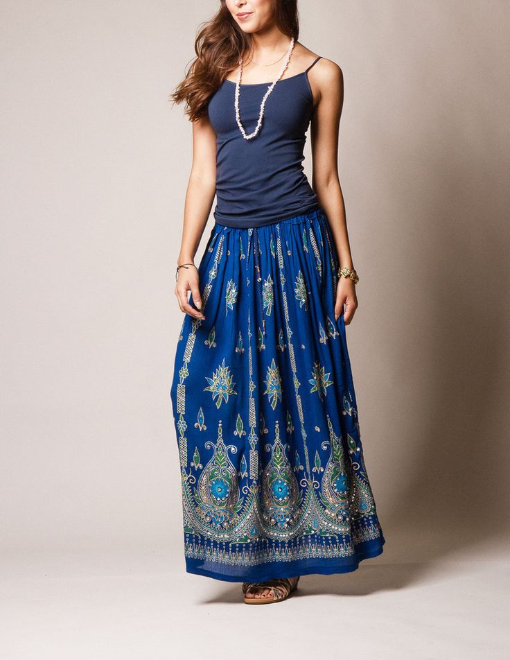 Jyoti Skirt - royal #SivanaWishes