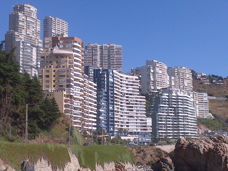 Vina Del Mar, Chile Downtown