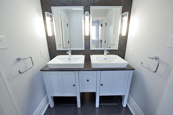 Less fighting and bickering with dual sinks.