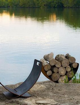 Effortlessly Store Your Firewood For All Your Fall Bonfires With The Wings  Of Flight Firewood Rack Nice Ideas
