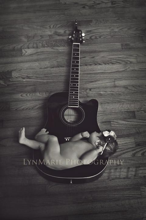 Newborn photography guitar photographychildren photographyphotography ideasnewborn