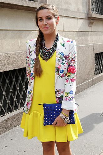 Street Style 2013: Florals - FLARE