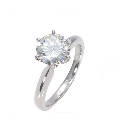 Diamantring Solitär -1.25 Karat Diamant (G/SI)- 585er Weißgold