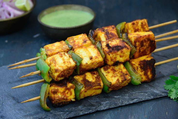 Achari Paneer Tikka Recipe Is a dish I can have any day of the week. Squeeze some lemons and serve it along with sliced onions is a favorite.