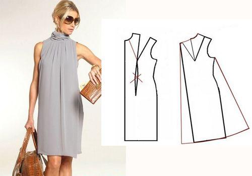 fd1220289468 Простая и красивая одежда на лето своими руками. Стильная летняя одежда  своими руками. Интересные способы пошива оригинальных летних вещей.