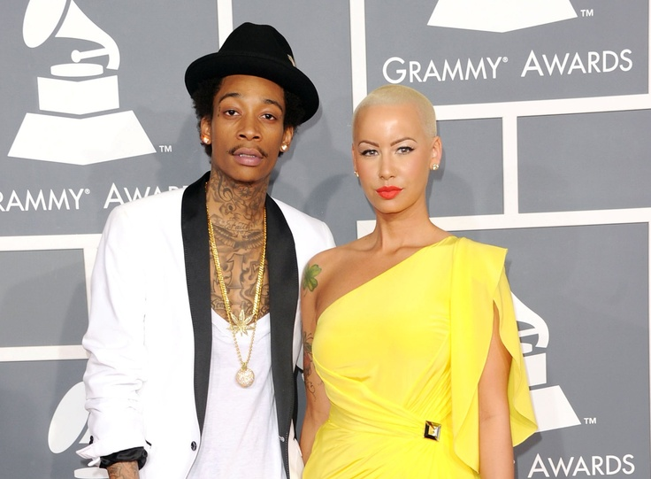 Wiz Khalifa and Amber Rose will be married in a couple
