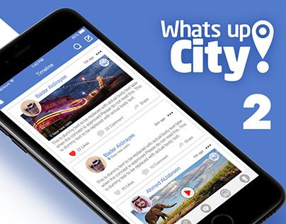 "Check out new work on my @Behance portfolio: ""What's Up City 2"" http://be.net/gallery/44475853/Whats-Up-City-2"