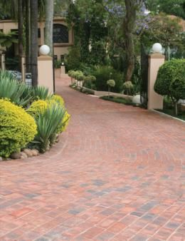 Paving - Clay paving bricks for sale in South Africa - Corobrik