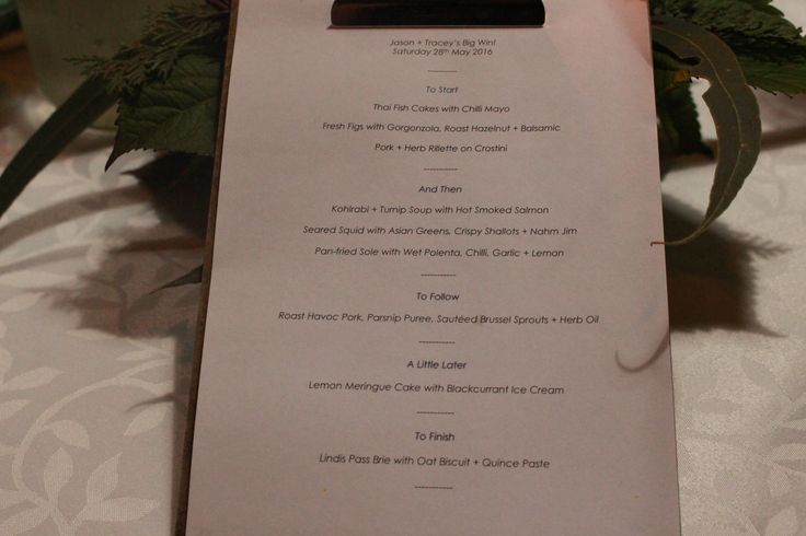 9 course degustation dining experience menu