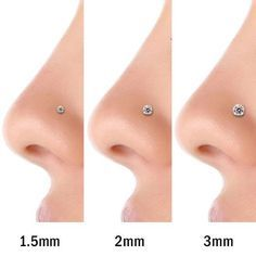 small nose piercing - Google Search