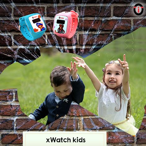Break the barriers of child safety with xWatch Kids, incredible & adorable IoT smartwatches from Iotex!