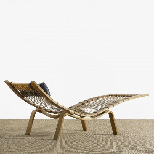 Hans Wegner Hammock Chaise Longue 1960 Coveted Furniture In