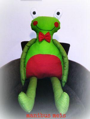 manibus meis: Mr Froggy