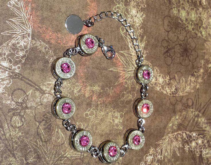 Bullet Bracelet|Tennis Bracelet|38 Special|Shell Casing Jewelry|Bullet Jewelry|Bullet Casing|Bracelets|Jewelry|Gun Jewelry