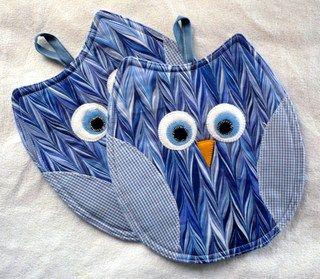 New owl-potholders!!!