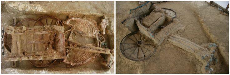 Ο αρχαίος τάφος του Έβρου όπου οι νεκροί ήταν θαμμένοι μαζί με τα άλογα και τις άμαξες. Η σπάνια ανακάλυψη βραβεύτηκε από το Λούβρο, αλλά εδώ και 15 χρόνια περιμένει να αποκτήσει μουσείο - ΜΗΧΑΝΗ ΤΟΥ ΧΡΟΝΟΥ