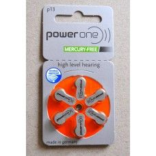 Power One Mercury Free Size 13(60 pack)