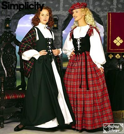 Perfect Ladies Highland Dress  DC1096 By Medieval Collectibles