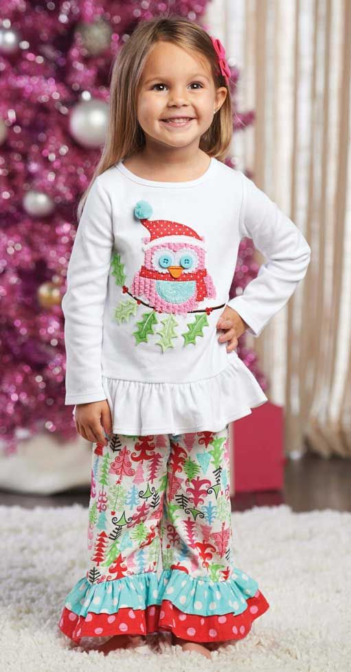 10 Best Pink Christmas Outfits For Little Girls Images On