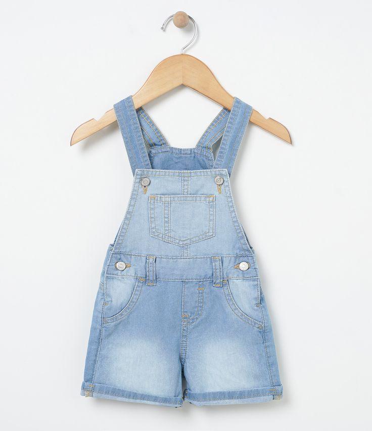 25 melhores ideias sobre jardineira jeans infantil no