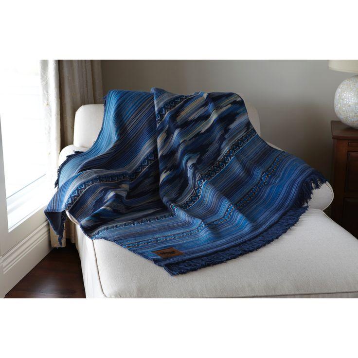 Deluxe Comfort Biederlack Collection Thermosoft Mediterranean Throw