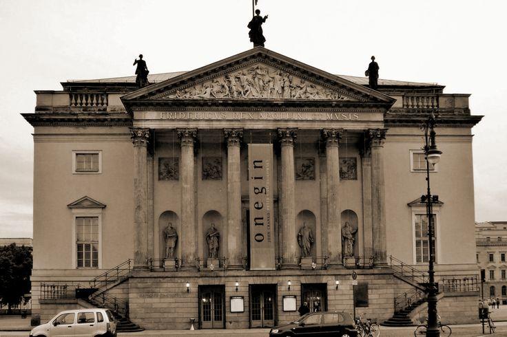 18TH CENTURY, Germany - Georg von Knobelsdorff (1699-1753): German State Opera House, 1741-3