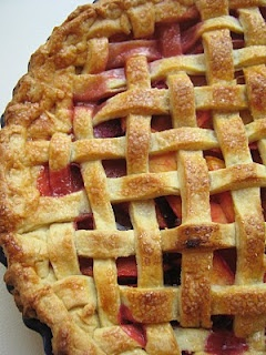 Nectarine Blackberry Open Faced Pie Recipe — Dishmaps
