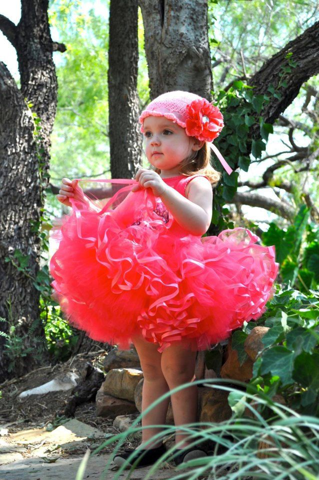 """Isabella"" Tutu with Satin Ribbon Trim Tutorial, via Etsy."