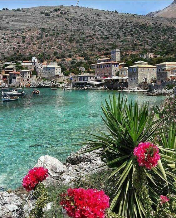 Beautiful shot of #Limeni harbour, #Peloponnese, #Greece