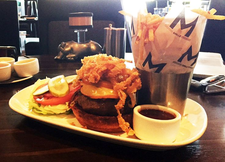 10 MUST-TRY BURGERS IN KANSAS CITY     May is National Burger Month—but with these delicious local options, who needs an excuse? Pictured is Morton's Smokey Kansas City #BBQ Chesseburger