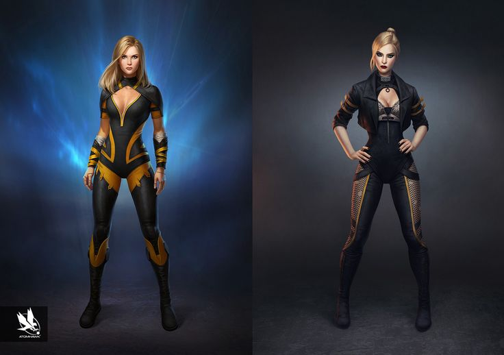 Injustice 2- Characters, Atomhawk Design on ArtStation at https://www.artstation.com/artwork/kXn9x