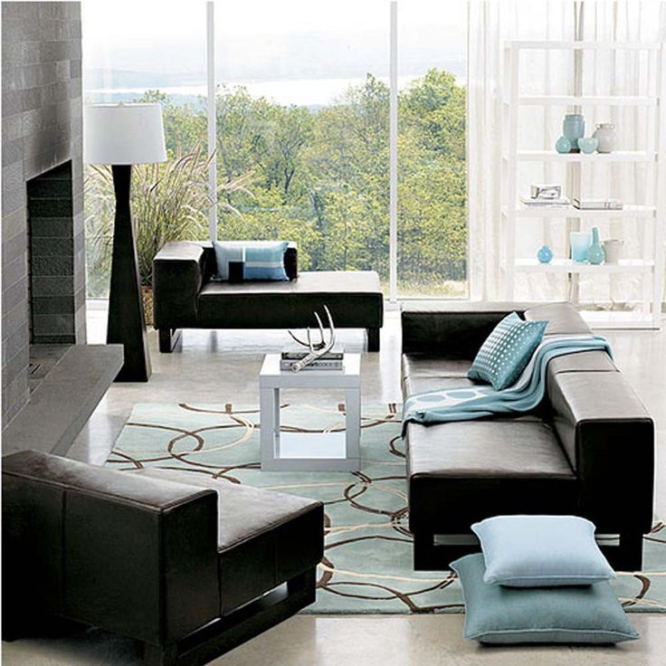 Modern Area Rugs For Living Room Part - 24: Image Of: Living Room Modern Area Rugs