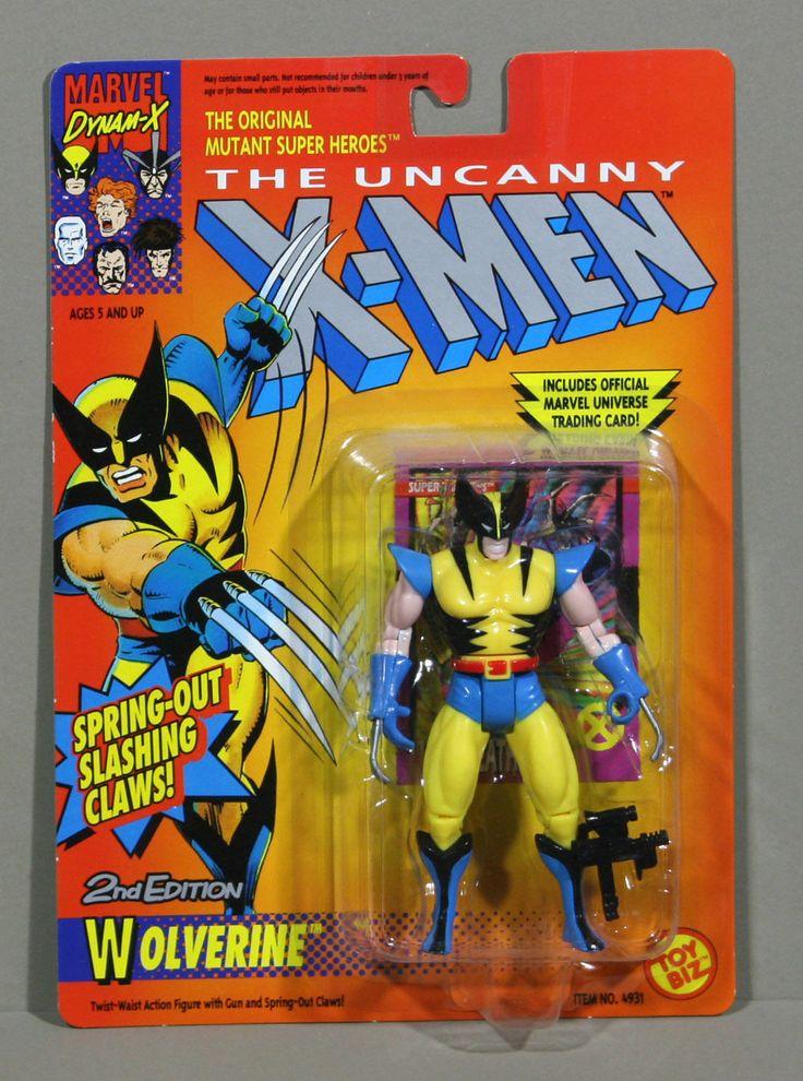 Wolverine 2nd Edition Uncanny X Men 1992 Toy Biz