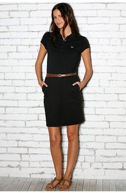 Lacoste Pique Polo Dress