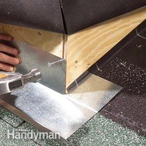 Make roof dormers and other outside corners leakproof
