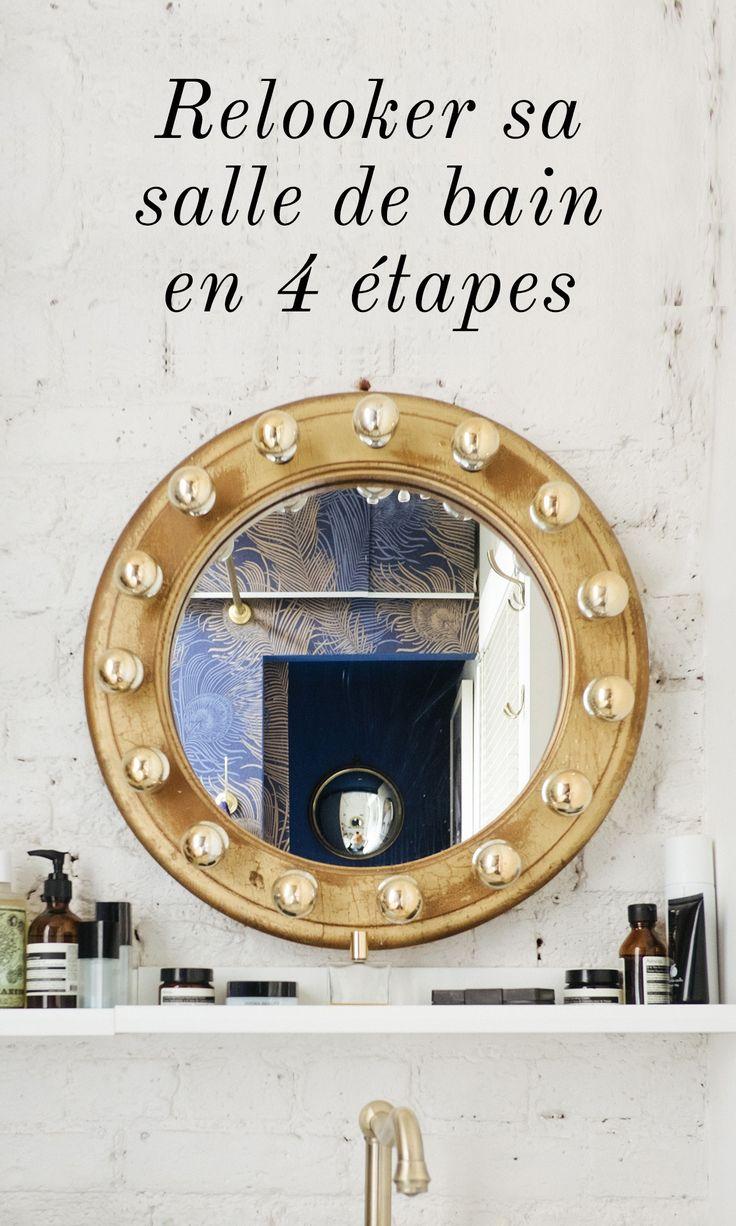 17 meilleures id es propos de relooking de salles de bains sur pinterest couleurs de petites. Black Bedroom Furniture Sets. Home Design Ideas