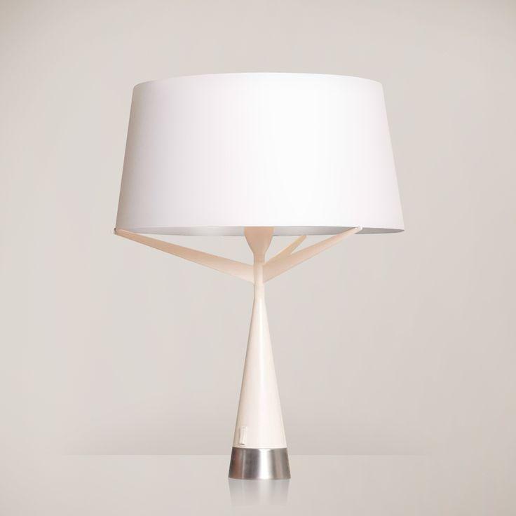 S71 - Lampa L Biały/Silver Axis 71