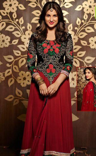 Parineeti Chopra in a gorgeous Siya outfit.