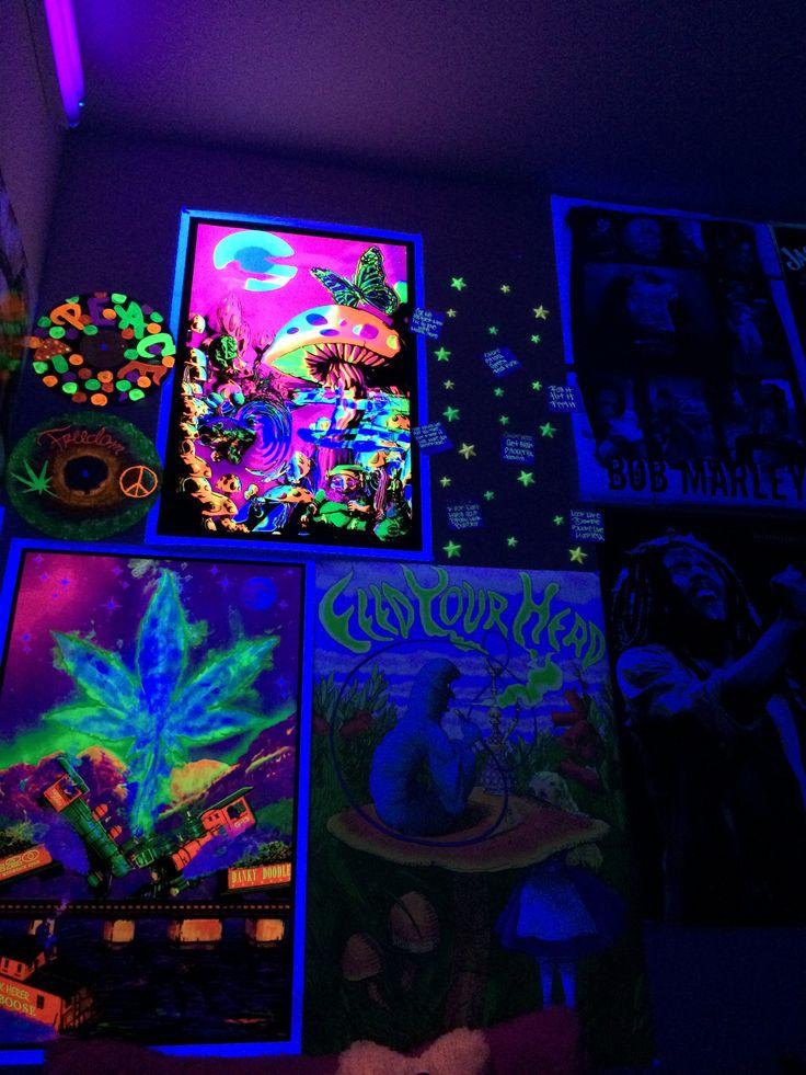Black Light Wall. Stoner RoomBlack ...