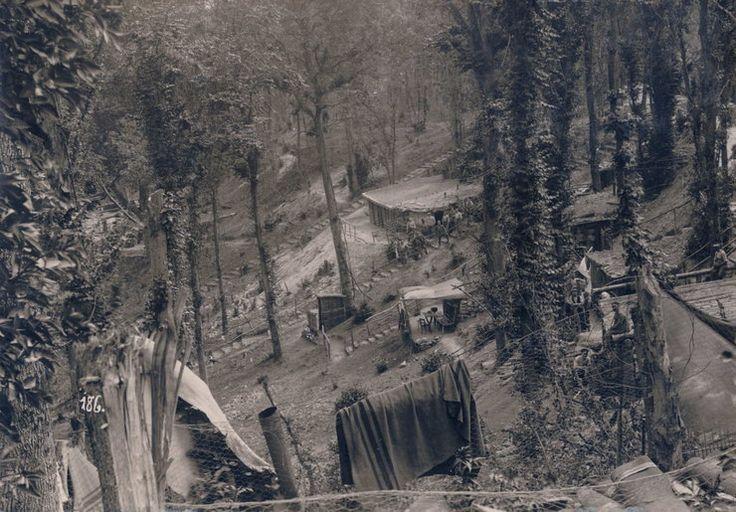 Niemiecka kwatera główna niedaleko Wschodniego Frontu, 1916 rok