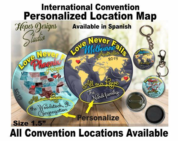 JW Gifts Love Never Fails 2019 International Convention