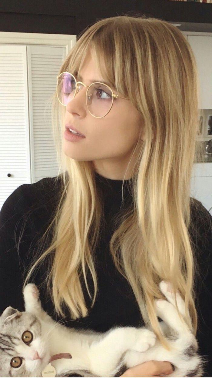 19+ Frisuren lange haare und brille Information