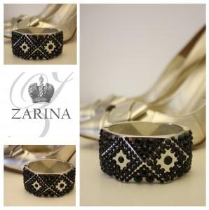 Brazalete Lady Black  Exclusive by ZARINA  Info.zarinadesigns@gmail.com